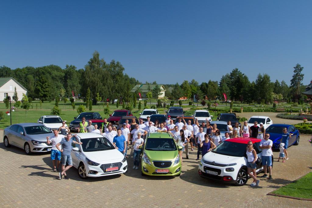 Официально: в Украине прошел самый масштабный тест-драйв новых авто