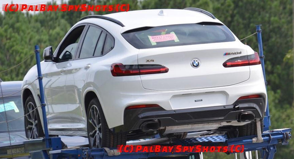 BMW X4 2018: первые фото купе-кроссовера БМВ