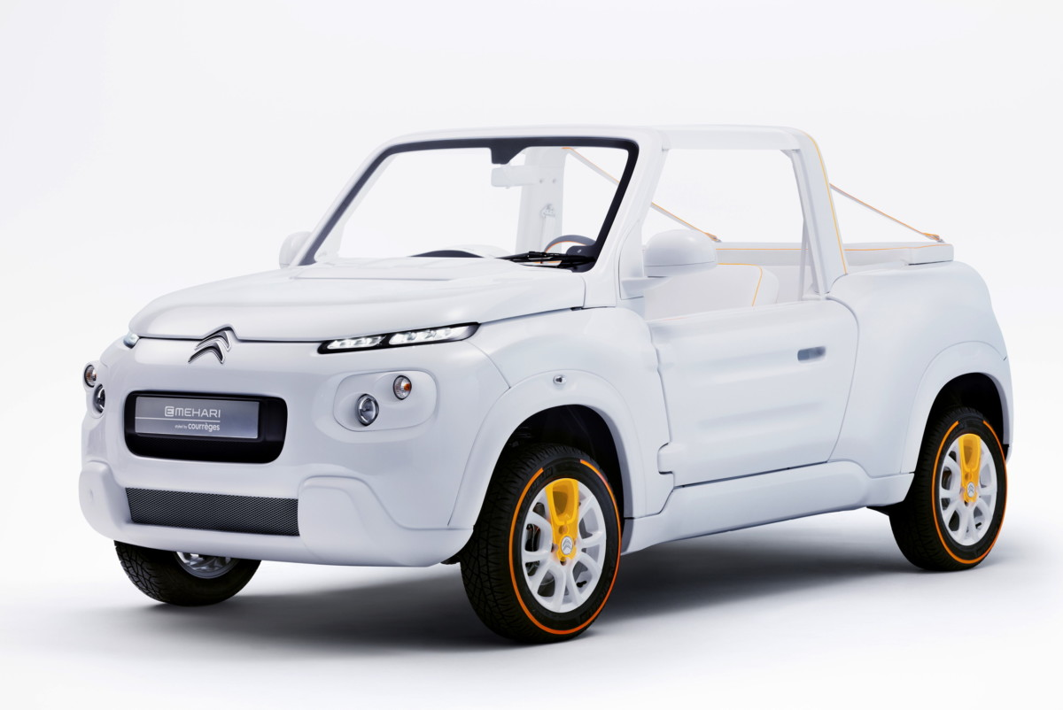 Citroen E-Mehari Styled by Courreges