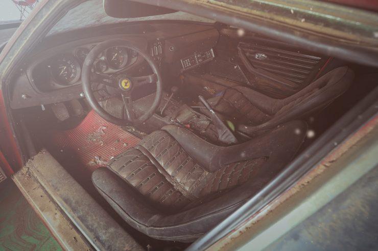 Простоявший 40 лет в гараже Ferrari уйдет с молотка за $2 миллиона