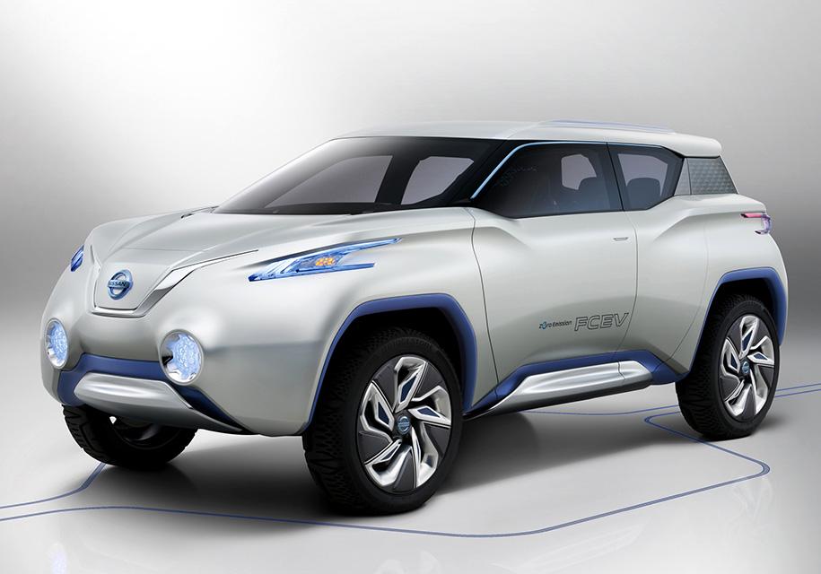 Электрический кроссовер Nissan Terra