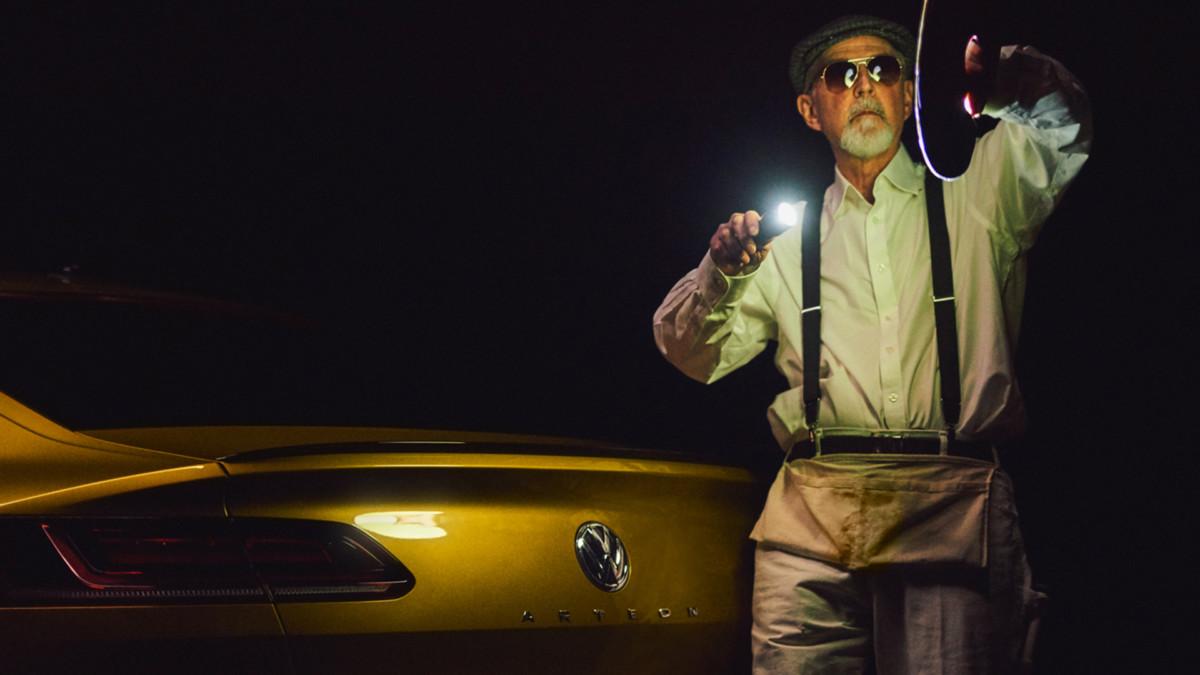 Как видит Volkswagen Arteon слепой фотограф Пит Экерт