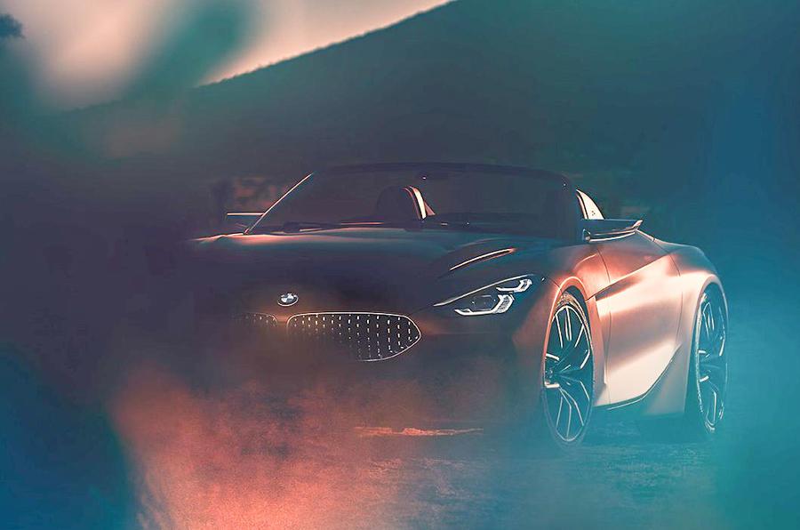 Рассекречен концепт нового BMW Z4 2018