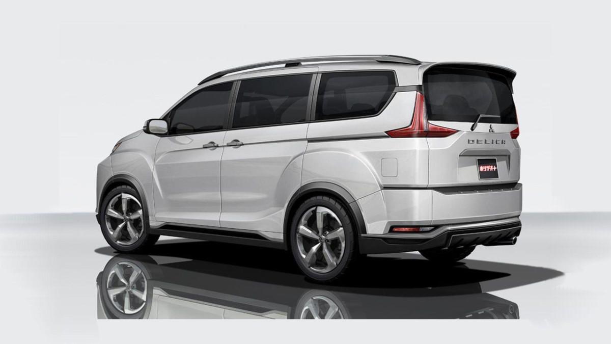 Mitsubishi представили новый внедорожный минивэн