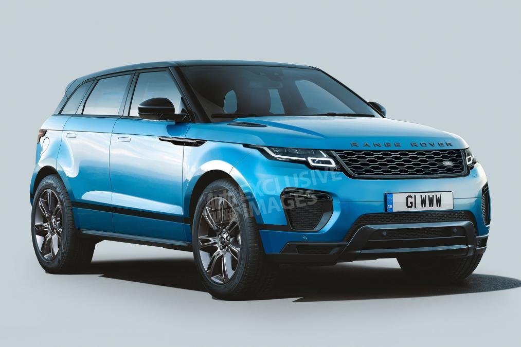 Новый Range Rover Evoque появится в 2019 году