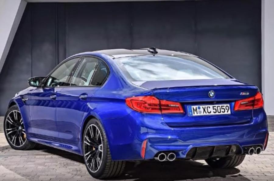 Новый BMW M5 2018 полностью рассекречен