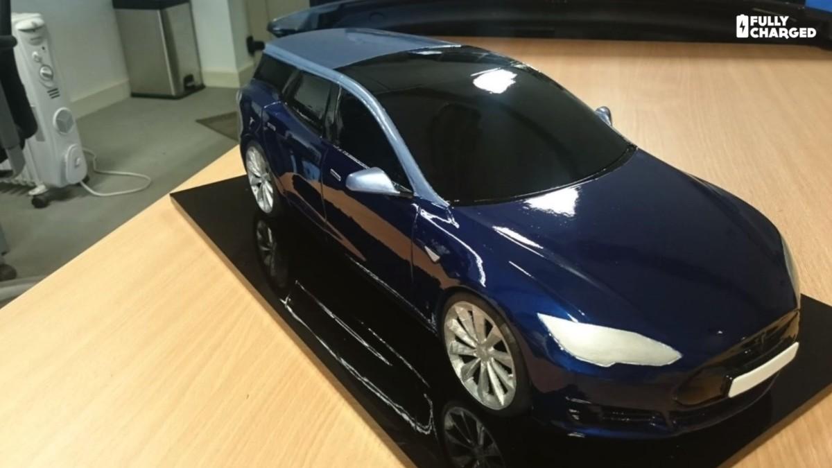В Британии сделают Tesla Model S универсал