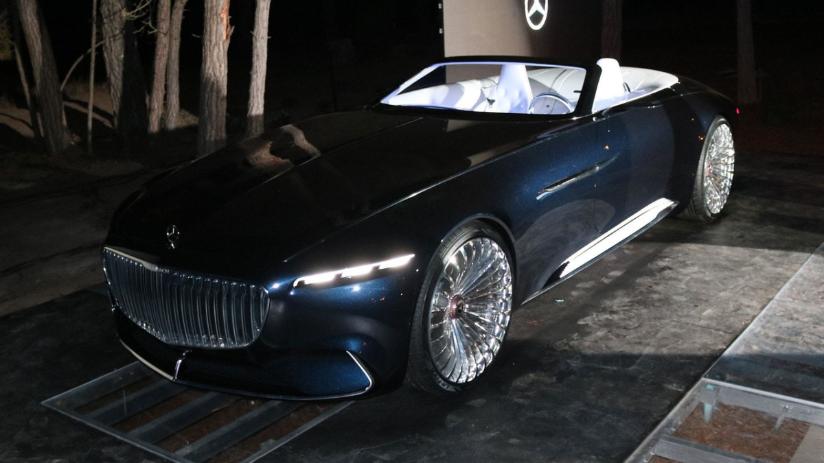 Maybach представил чудный кабриолет