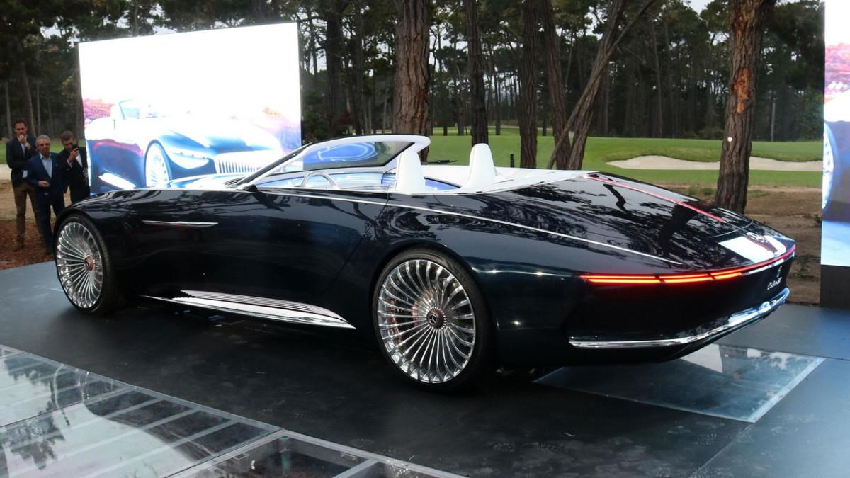 Maybach презентовал самый роскошный кабриолет в мире