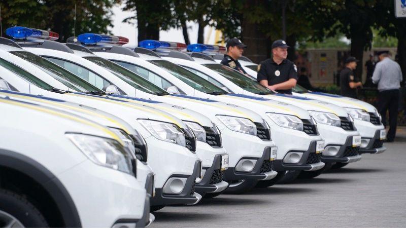 Renault Sandero Stepway для Одесских полицейских