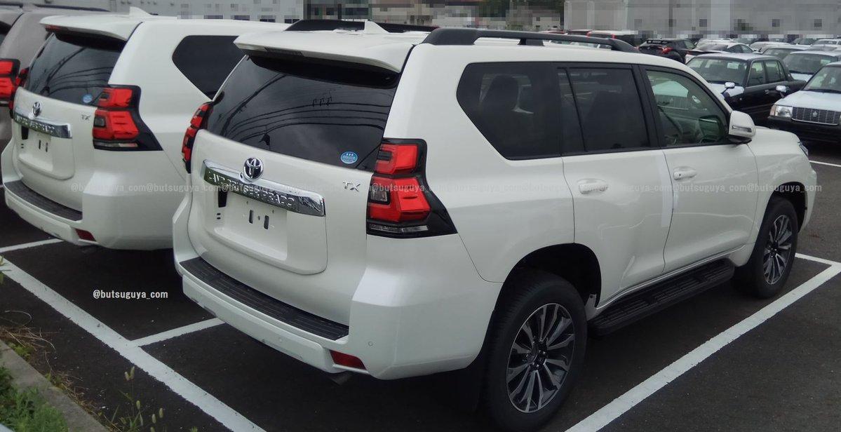 Новая Toyota Land Cruiser Prado 2018 полностью рассекречена