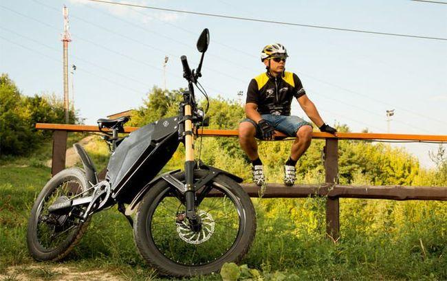 Украинцы создали электробайк сзапасом хода больше, чем уТеслы