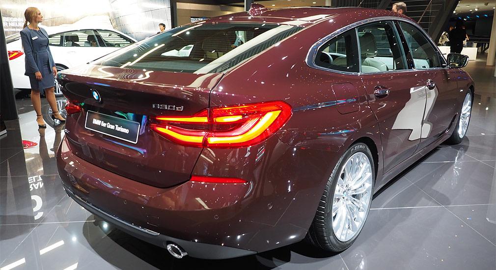 Франкфуртский автосалон: представлен новый BMW 6 Series Gran Turismo