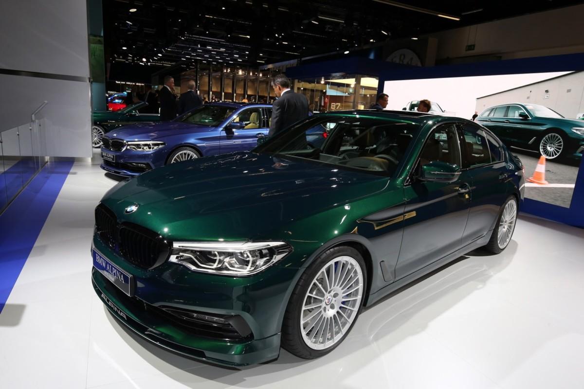 BMW Alpina D5 S: новый рекордсмен среди дизельных авто