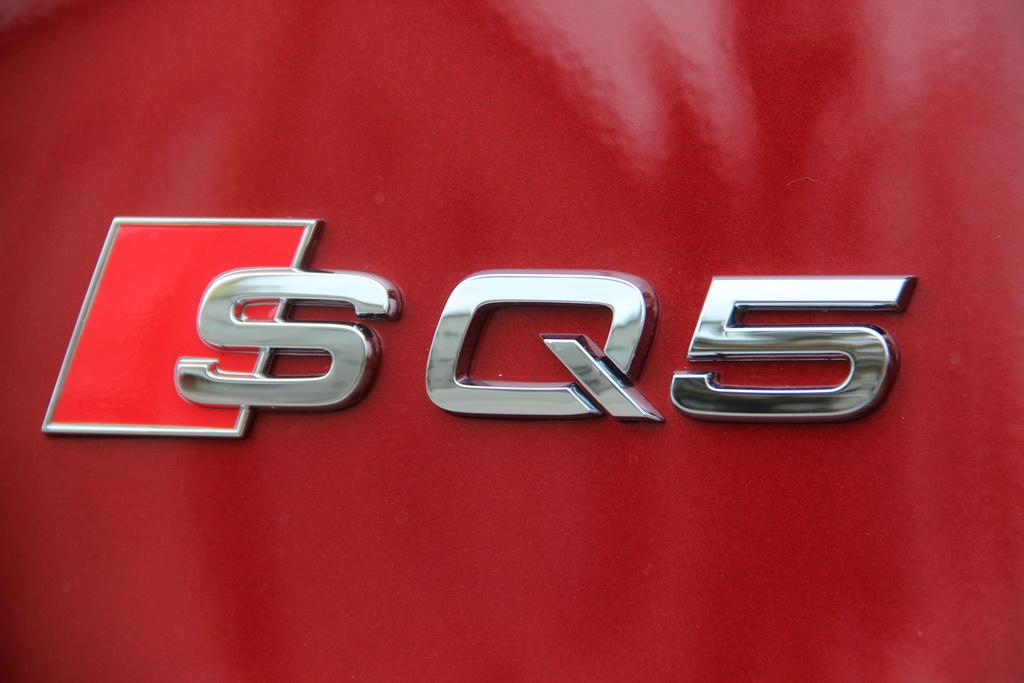 Шильдики Audi SQ5 2017