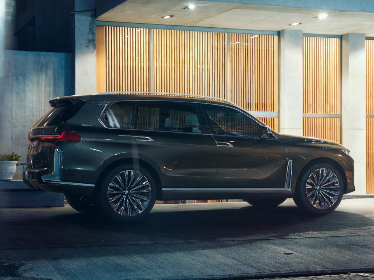 Рассекречен концепт нового BMW X7 2019