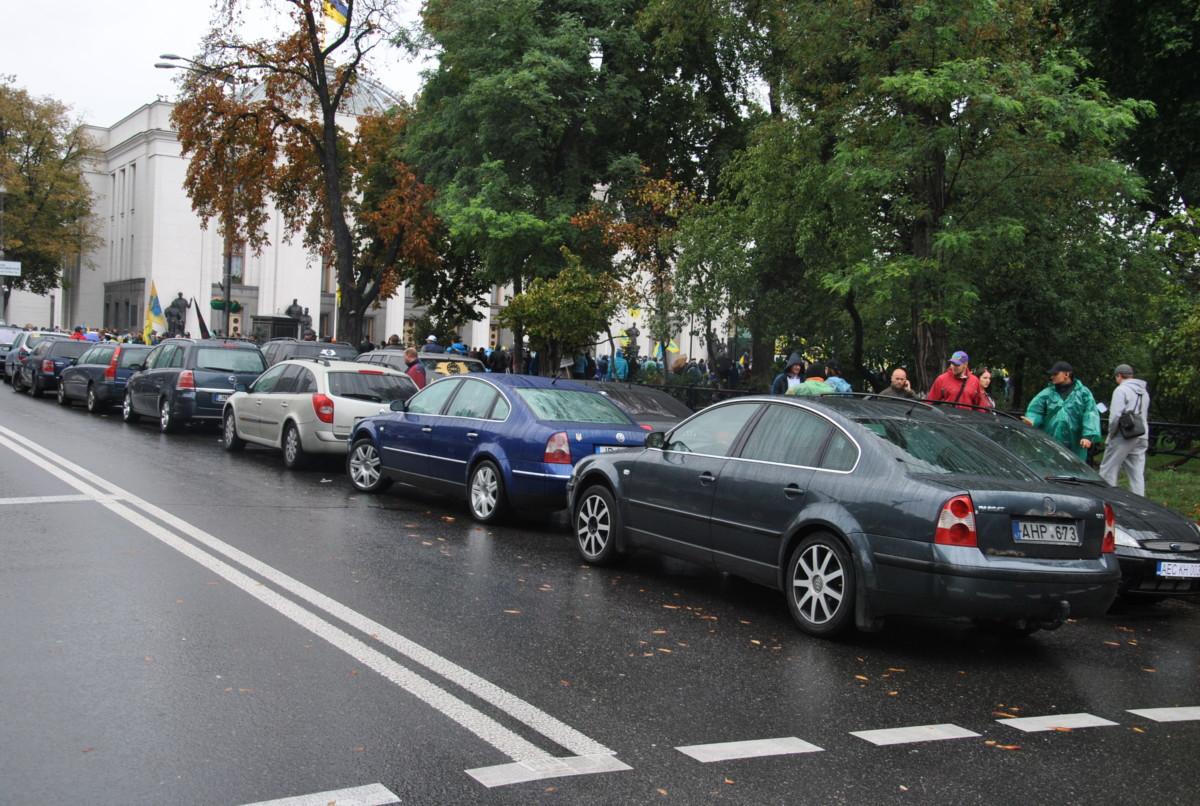 Акция за легализацию авто на еврономерах станет бессрочной