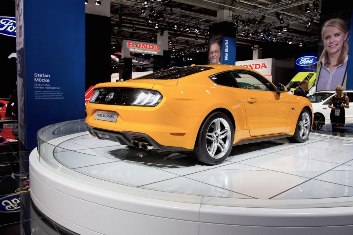 Во Франкфурте дебютировал обновленный Ford Mustang 2018