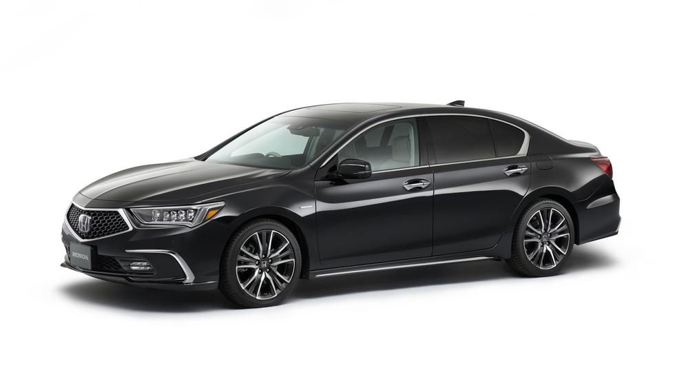 Honda Legend 2018: первые фото обновленного флагмана Хонда