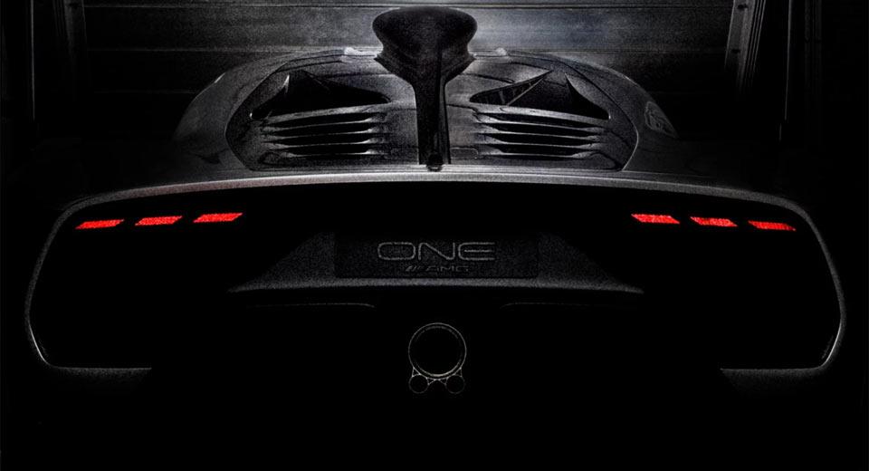 Гиперкар Mercedes-AMG Project One: новые фото и подробности