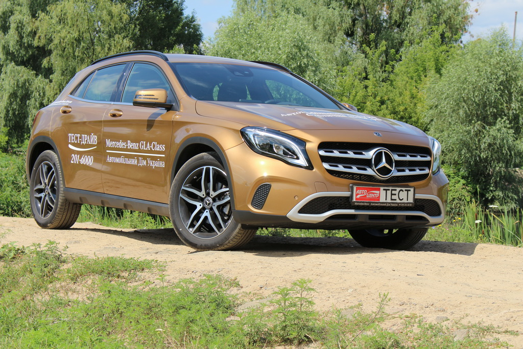Mercedes-Benz GLA-Класс 2017