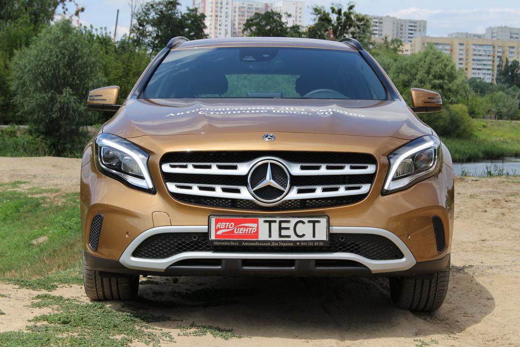 Внешность Mercedes-Benz GLA 2017