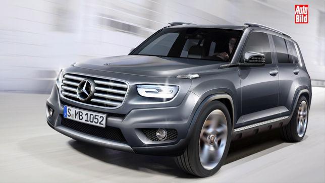 Mercedes-Benz GLB 2019: новая информация про мини-Гелендваген