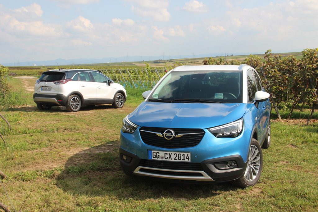 Первые впечатления о новом кроссовере Opel Crossland X
