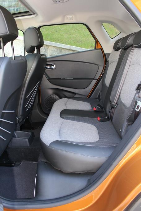 Сиденья Renault Captur 2017