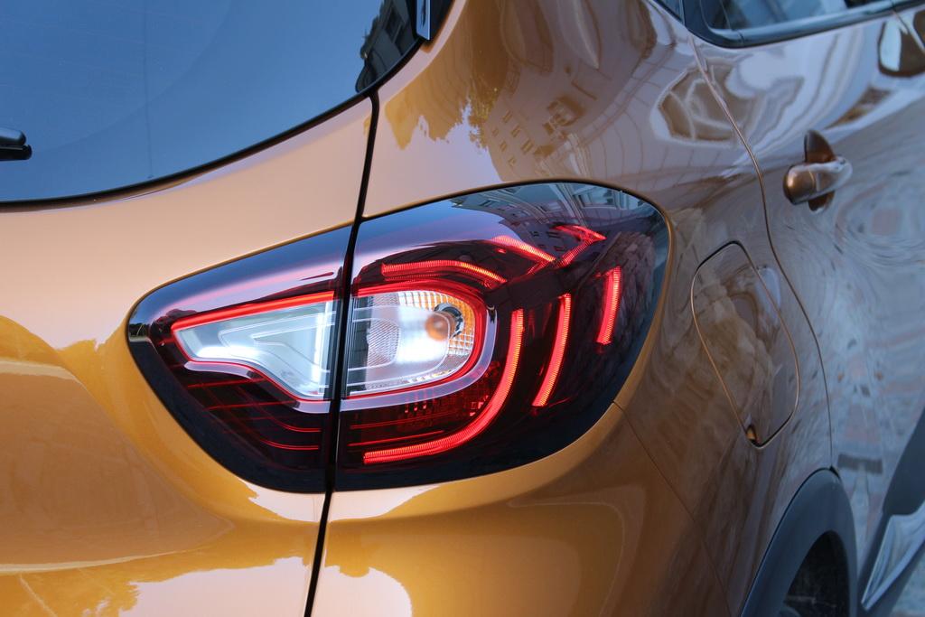Оптика Renault Captur 2017