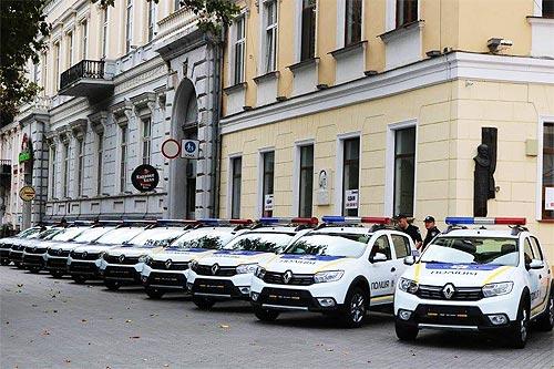 Автопарк одесской полиции пополнился новыми автомобилями