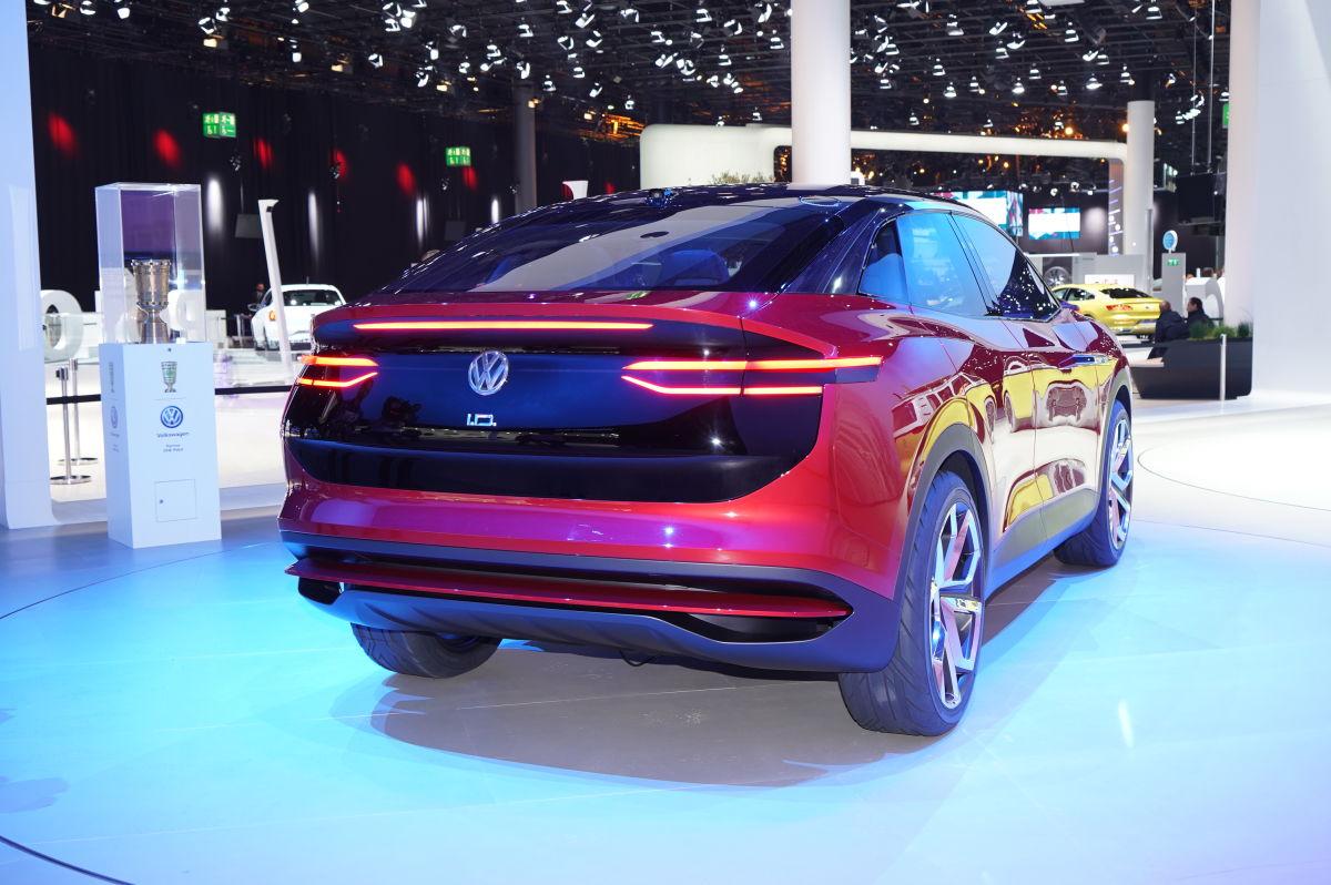 Фольксваген  представил воФранкфурте новый электрический кроссовер