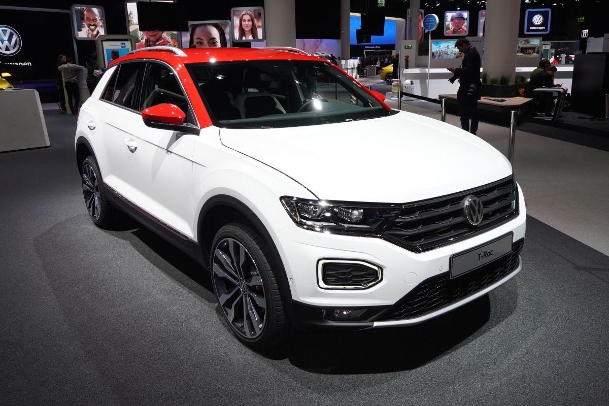 Во Франкфурте дебютировал самый маленький кроссовер Volkswagen T-Roc