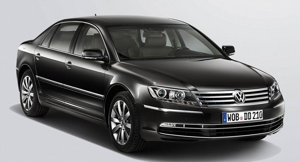 Новый Volkswagen Phaeton станет электромобилем