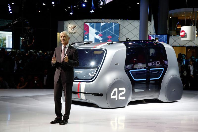 Сенсационную программу по электрификации транспорта презентовал глава Volkswagen Group — Маттиас Мюллер