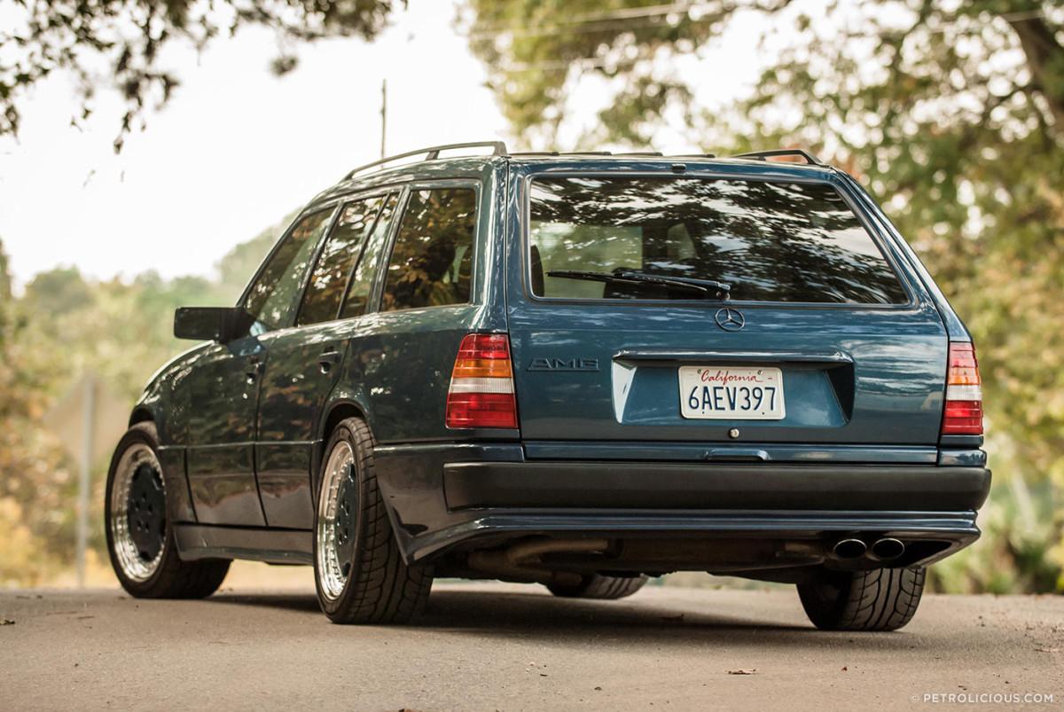 Быстрый «вагон»: единственный в мире универсал Mercedes 124 от AMG