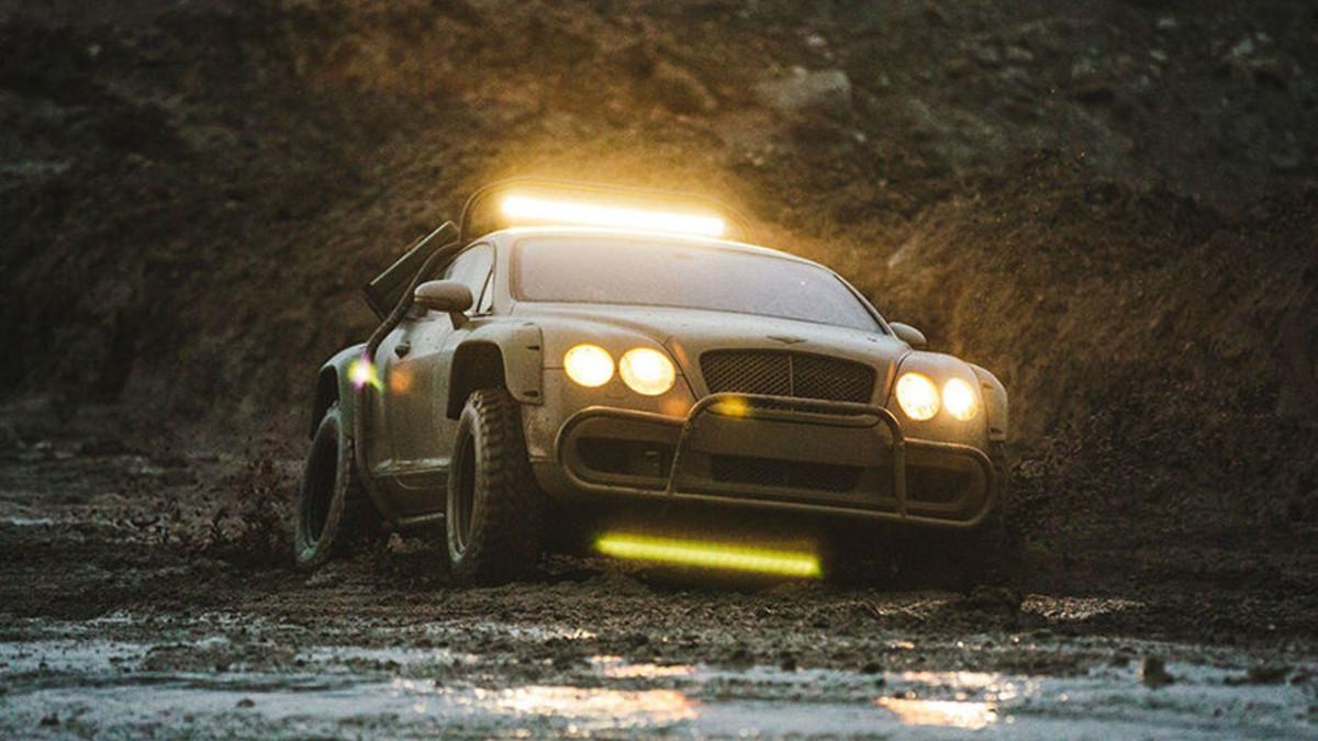 Купе Bentley Continental GT превратили в оригинальный внедорожник