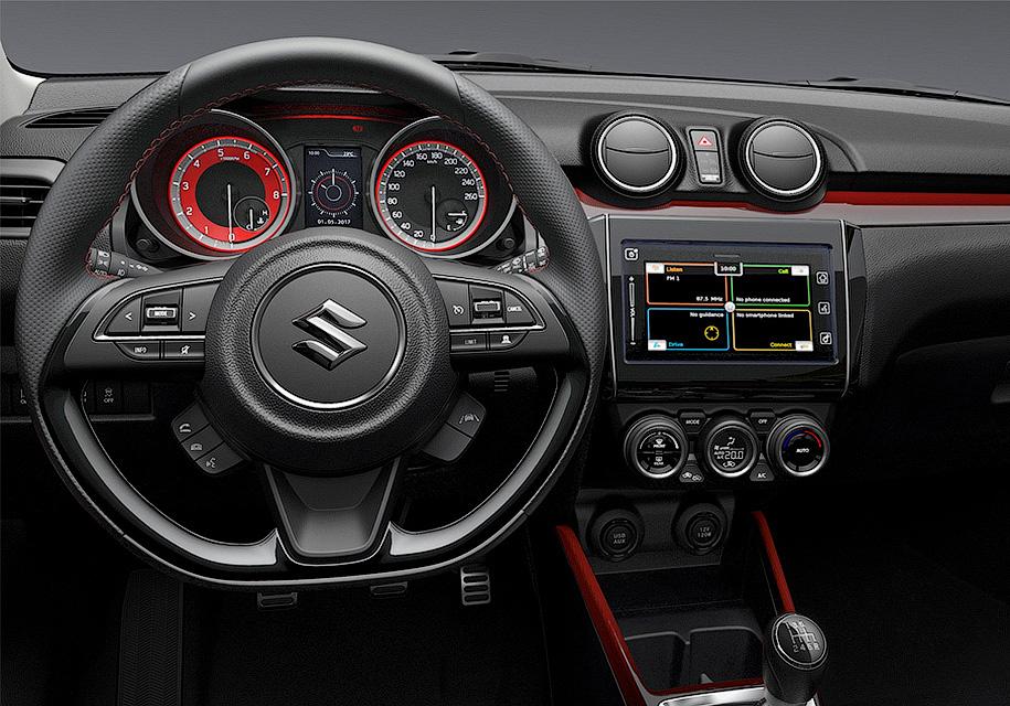 Хот-хэтч Suzuki Swift Sport станет самым быстрым в линейке марки