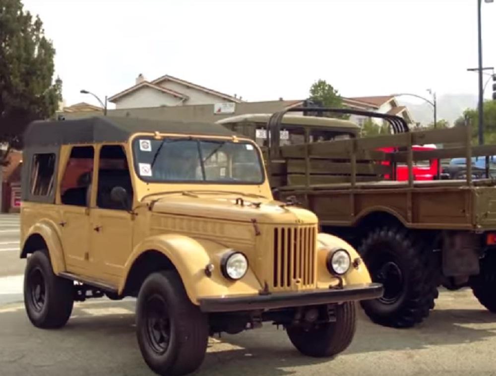 ГАЗ-69 на базе Jeep Wrangler