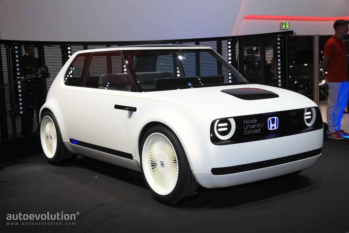 Honda во Франкфурте представила стильный городской электромобиль