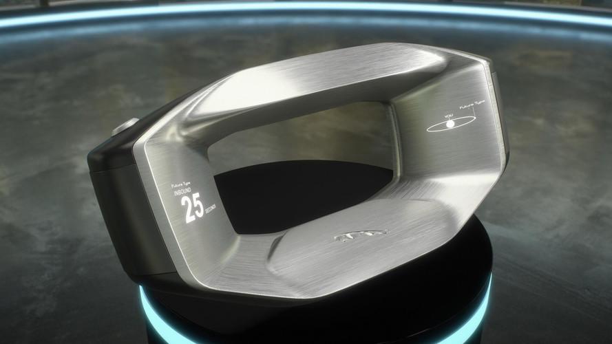 Jaguar представил автомобильный руль будущего