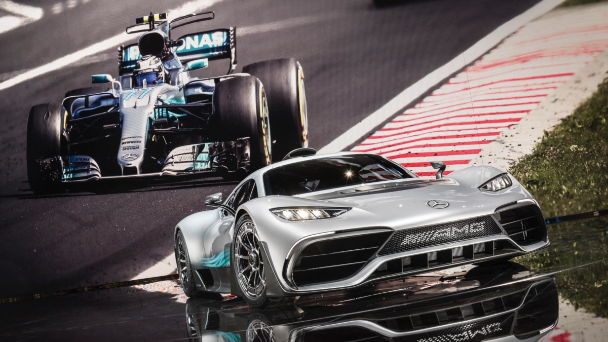 Mercedes-AMG Project One: живые фото первого гиперкара Мерседес