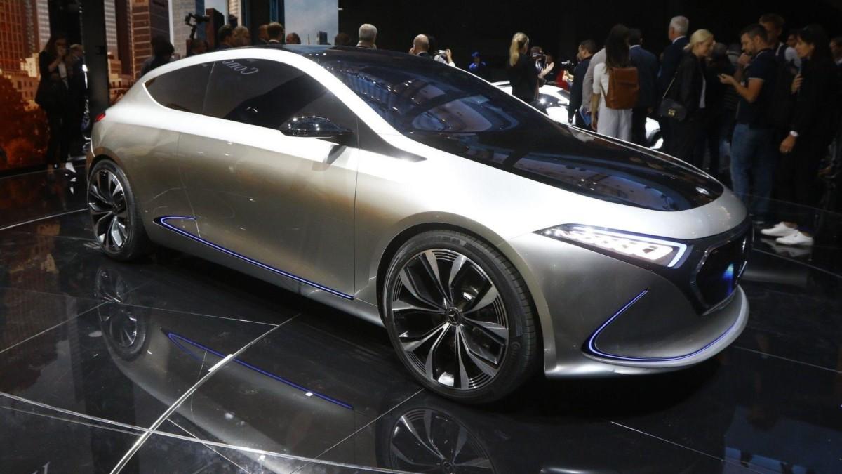 Электромобиль Mercedes-Benz EQ A показали во Франкфурте