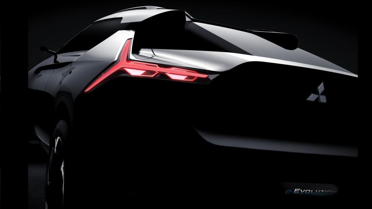 Рассекречен концепт нового Mitsubishi Evolution