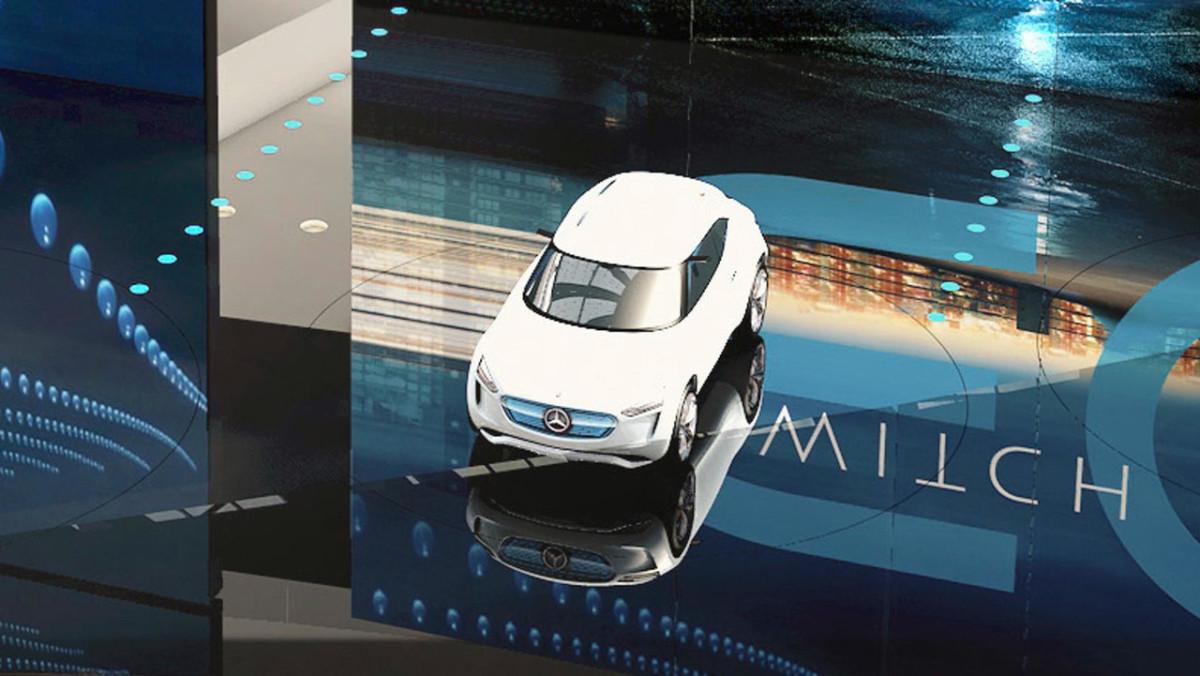 Mercedes-Benz EQ A: первые изображения компактного электромобиля