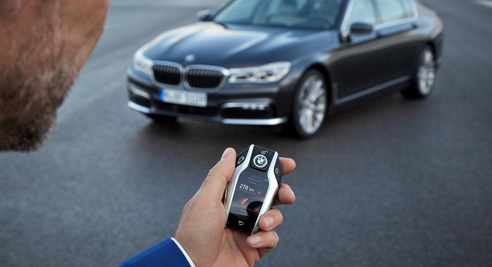 BMW планирует полностью отказаться от ключей для авто