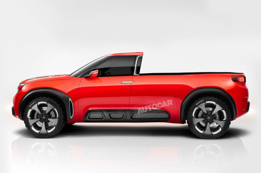 Citroen и Peugeot готовят пикап для Европы