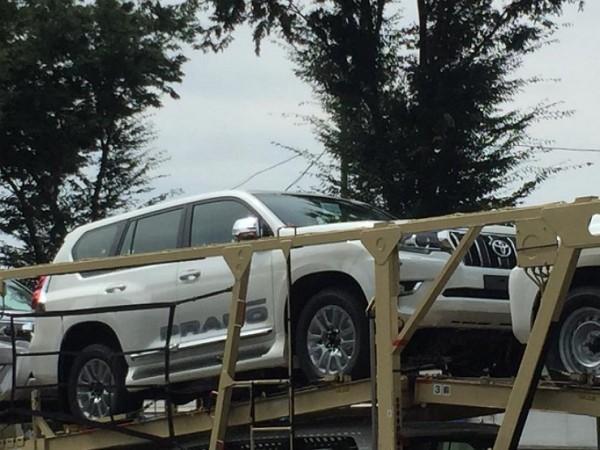 Обновленная Toyota Land Cruiser Prado дебютирует уже в этом месяце