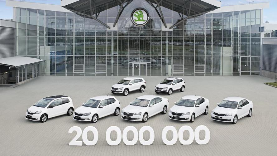 Skoda выпустила 20-миллионный автомобиль