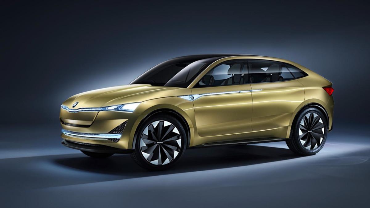 Skoda представит пять моделей электромобилей до 2025 года